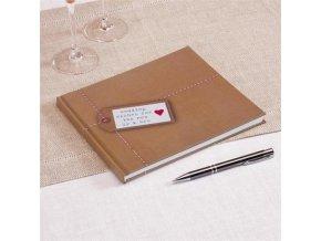 Svatební kniha hostů - Just My Type - 32 stran