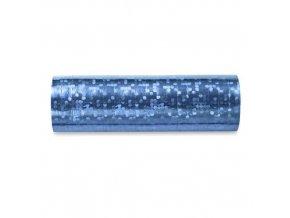 Serpentiny holografické světle modré 380 cm
