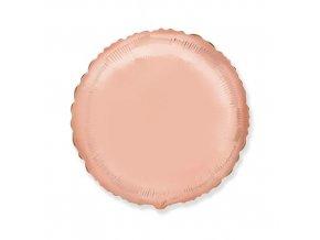 Foliový balonek kruh rose gold 46 cm