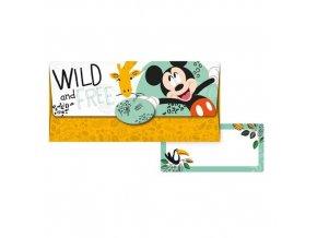 Obálka na peníze Mickey