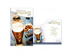 Narozeninové přání - Všechno nejlepší - Pivo