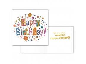 Narozeninové přání - Happy Birthday