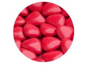Červená čoko srdíčka 500 g