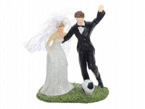 Svatební figurka - 1131 (Výška figurky 14 cm)
