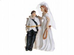 Svatební figurka - 1139 (Výška figurky 11 cm)