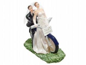 Svatební figurka - 1124 (Výška figurky 10 cm)