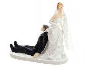 Svatební figurka - 1119 (Výška figurky 13 cm)