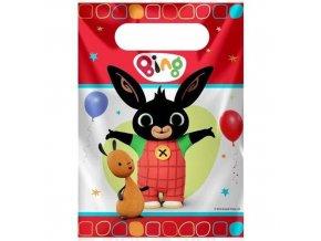 Party tašky kralíček Bing 8 ks