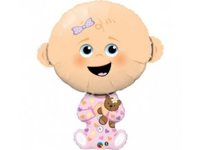 Foliový balonek holčička 96 cm