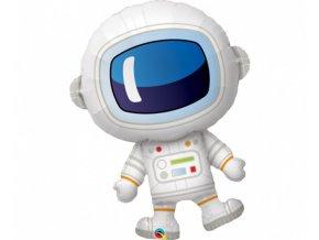 Foliový balonek Vesmír - Astronaut 93 cm