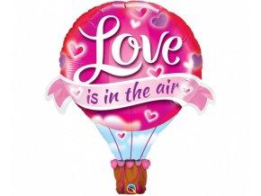 Foliový balonek Love is in the air - Balón 107 cm