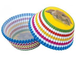 50 ks košíčků na muffiny a cupcakes | KRÁLÍČEK