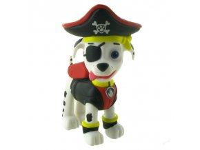 Dekorační figurka Paw Patrol - Marshall pirát