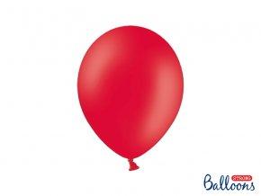 PartyDeco balónky červené (10 ks)
