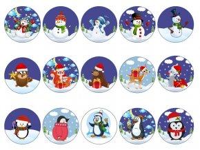 snowman penguin cupcke mix 1024x1024