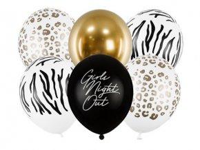 Latexové balonky Girls Night Out 6 ks