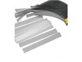 Dortové pásky průhledné 0,08mm (5x24cm řezané) 1000 ks/bal