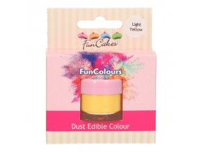 FunColours prachová barva - light yellow - 4g