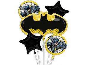 Sada foliových balonků Batman Justice League - 5 ks