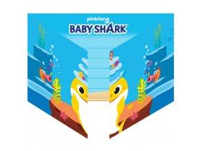Party pozvánky Baby Shark 8 ks
