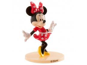 Nejedlá dekorace Minnie Mouse červená