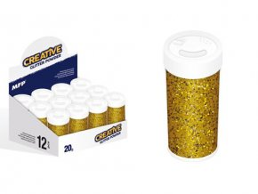 Glitrový pudr - zlatý 20 g