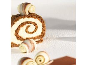 Callebaut Čokoládové soudky mramorované (20 ks) Neposíláme v balících!