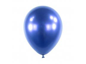 Dekorační chromový balonek modrý 30 cm - 50 ks