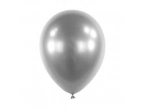 Dekorační chromový balonek Stříbrný 30 cm