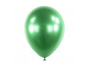 Dekorační chromový balonek Zelený 30 cm