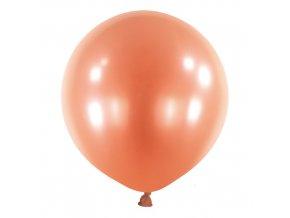 Dekorační balonky perleťové růžové 60 cm - 4 ks