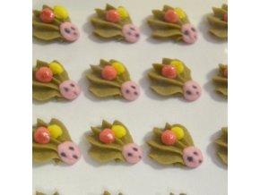 Cukrové ozdoby Timidekor - ježci (Trvanlivost cca 10 měsíců, Složení cukr, bramborový škrob, voda, vaječný bílek, kyselina citronová E330, glycerol E422, regulátor kyselosti E311c, zvlhčující látka)