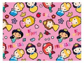 Balící papír Disney Princezny - 100 x 70 cm - 2 ks