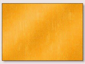 Balící papír žlutý s pruhy 70 x 200 cm