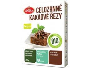 BIO celozrnne kakaove rezy