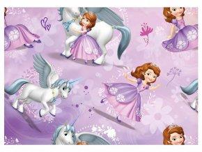 Balící papír Disney: SOFIE 2ks 100x70cm