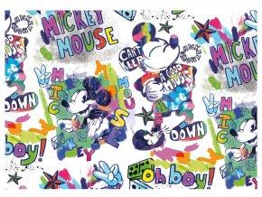 Balící papír Disney: MICKEY PASTELS 2ks 100x70cm