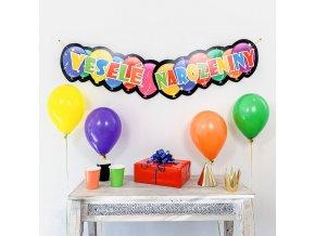 Party girlanda - Veselé narozeniny - GR5083
