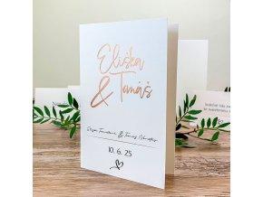 Svatební oznámení - G2170