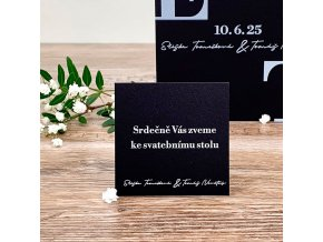 Svatební pozvánka - P2174