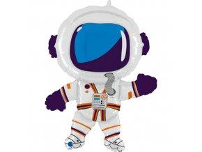 Foliový balonek Vesmír - Kosmonaut 91 cm