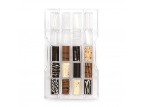 Polykarbonátová forma na čokoládu Assortiti - Decora