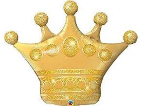 Foliový balonek Zlatá koruna 106 cm