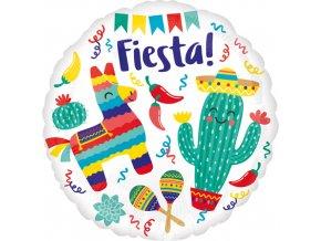Foliový balonek Fiesta 45 cm