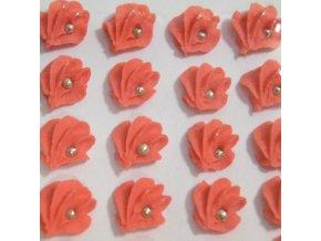 Cukrové ozdoby Timidekor - vějířky červené (Trvanlivost cca 10 měsíců, Složení cukr, bramborový škrob, voda, vaječný bílek, kyselina citronová E330, glycerol E422, regulátor kyselosti E311c, zvlhčující látka)