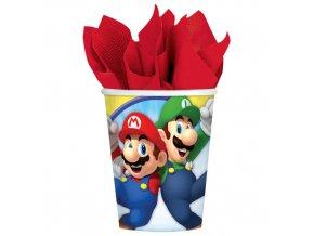 Papírové kelímky Super Mario 8 ks
