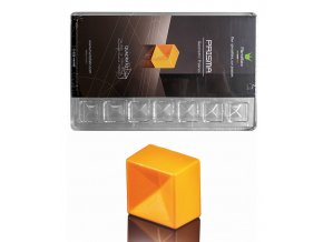 Forma na pralinky (čtverec 11g) 4x7 tvarů/forma