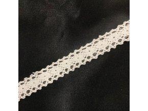 Krajka samolepící bílá 1,5 cm x 1,8 m