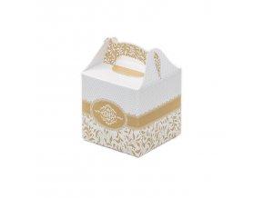 Svatební krabička na mandličky - K14-1007-01