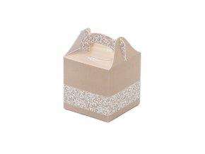 Svatební krabička na mandličky - K14-2045-01